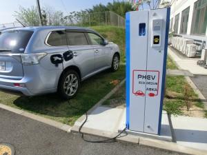 電気自動車充電器
