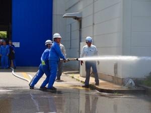幸田工場 消火訓練