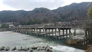 風情ある渡月橋