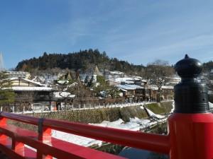 雪残る風景